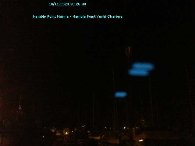 Hamble Webcam - © Southwater Marine